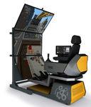 simulatore per attrezzature su pista / per veicolo di intervento / di allenamento / per ricerca e sviluppo