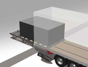 トラック用搬出口 / 空港用