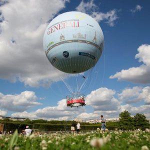 観光用ガス気球 / 25人以上 / ヘリウム式