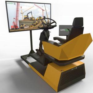 防災車用シミュレータ / 滑走路設備用 / トレーニング / 研究開発用