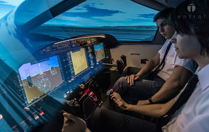飛行機シミュレータ / トレーニング / コックピット