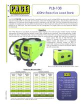 PLB-108 400Hz Reactive Load Bank