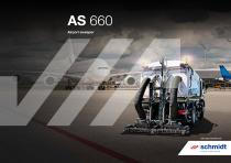 AS 660 Airport sweeper