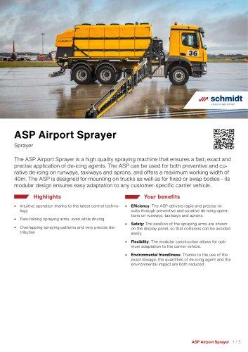 ASP Airport Sprayer