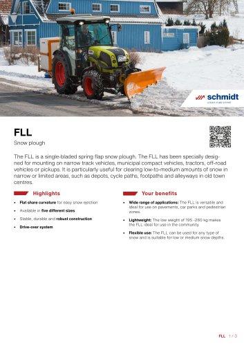 FLL Snow plough