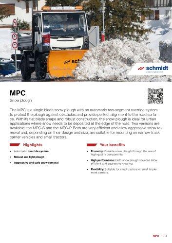 MPC Snow plough