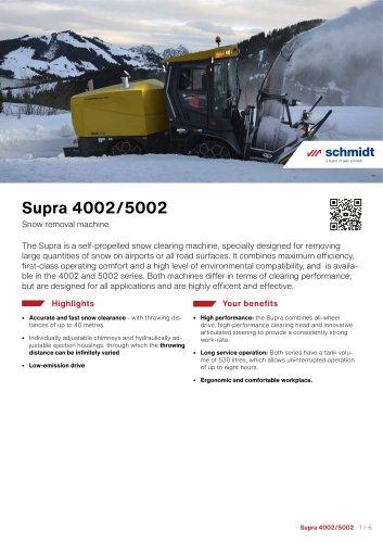 Supra 4002/5002