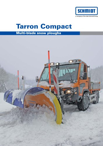 Tarron Compact Multi-blade snow ploughs