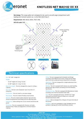 KNOTLESS NET MA5102 XX XX