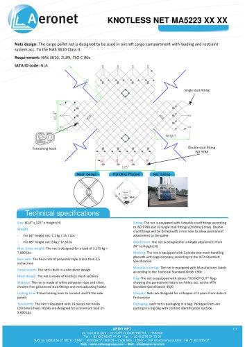 KNOTLESS NET MA5223