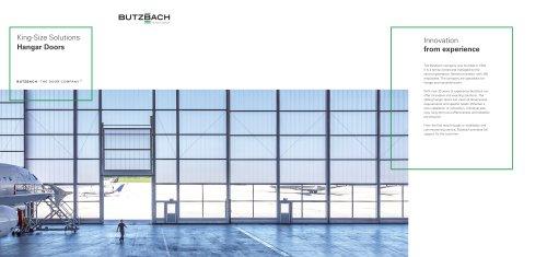King-Size Solutions Hangar Doors