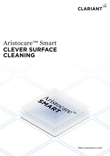 Aristocare™ Smart CLEVER SURFACE CLEANING