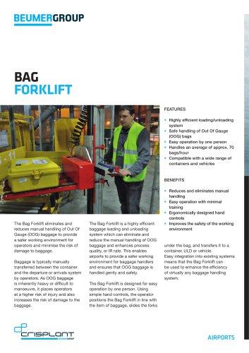 Bag Forklift