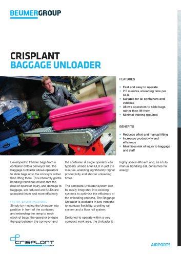 BEUMER Baggage Unloader