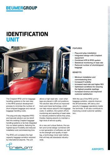 BEUMER Identification Unit