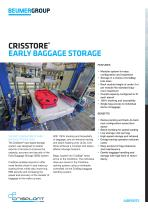 CrisStore® Early Baggage Storage