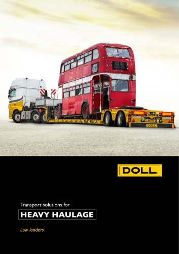 Low-Loader Heavy Haulage