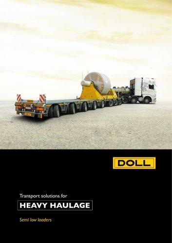 Semi Heavy Haulage