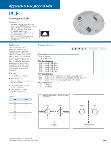 IALE Inset Approach light