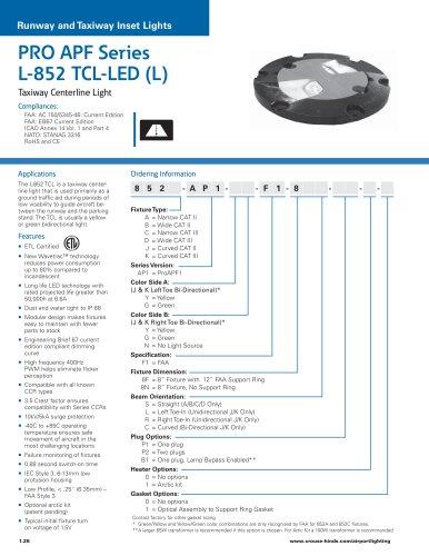 PRO APF Series  L-852 TCL-LED (L)