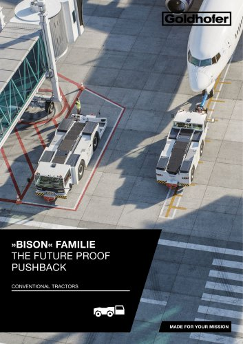 BISON« FAMILIE THE FUTURE PROOF  PUSHBACK