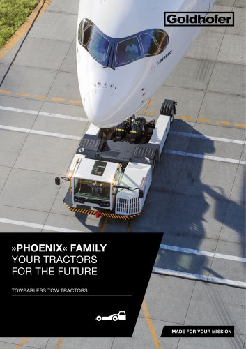 »PHOENIX« FAMILY  YOUR TRACTORS  FOR THE FUTURE