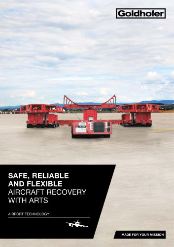 SAFE, RELIABLE AND FLEXIBLE AIRCRAFT RECOVERY WITH ARTS