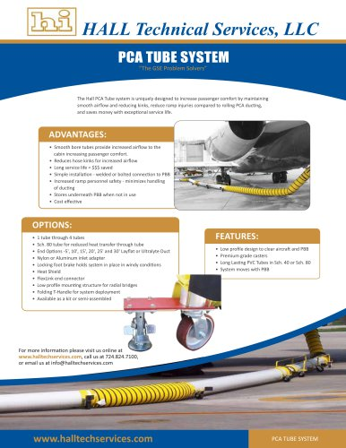 PCA Tube System