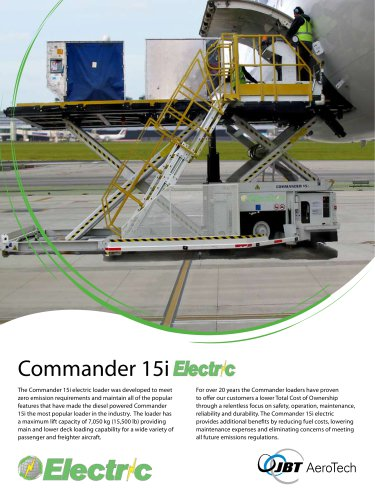Commander 15i Electric
