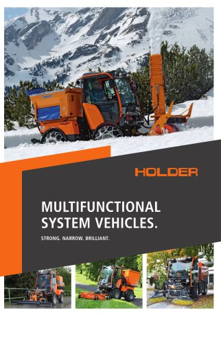 MULTIFUNCTIONAL SYSTEM VEHICLES.