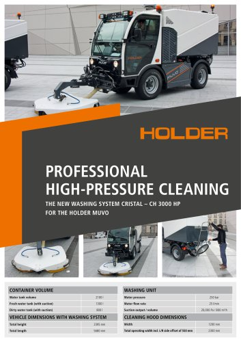 Product flyer CH 3000 HP