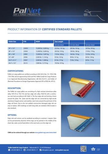 Certified Standard Pallets