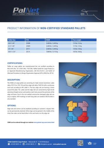 Non-certified Standard Pallets