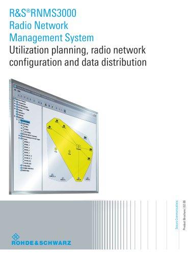 R&S®RNMS3000 Radio Network Management System