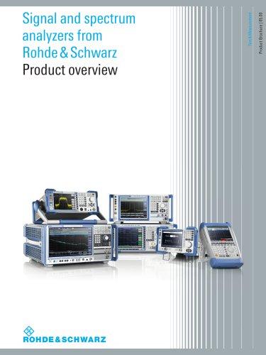 Signal and Spectrum Analyzers
