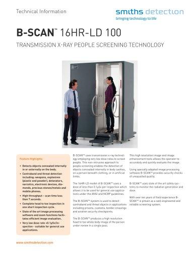 B-SCAN 16HR-LD 100