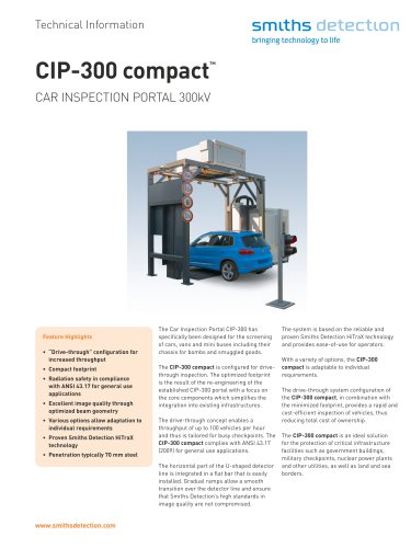 CIP-300 compact
