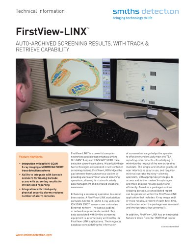 FirstView-LINX