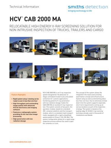 HCV CAB 2000 MA