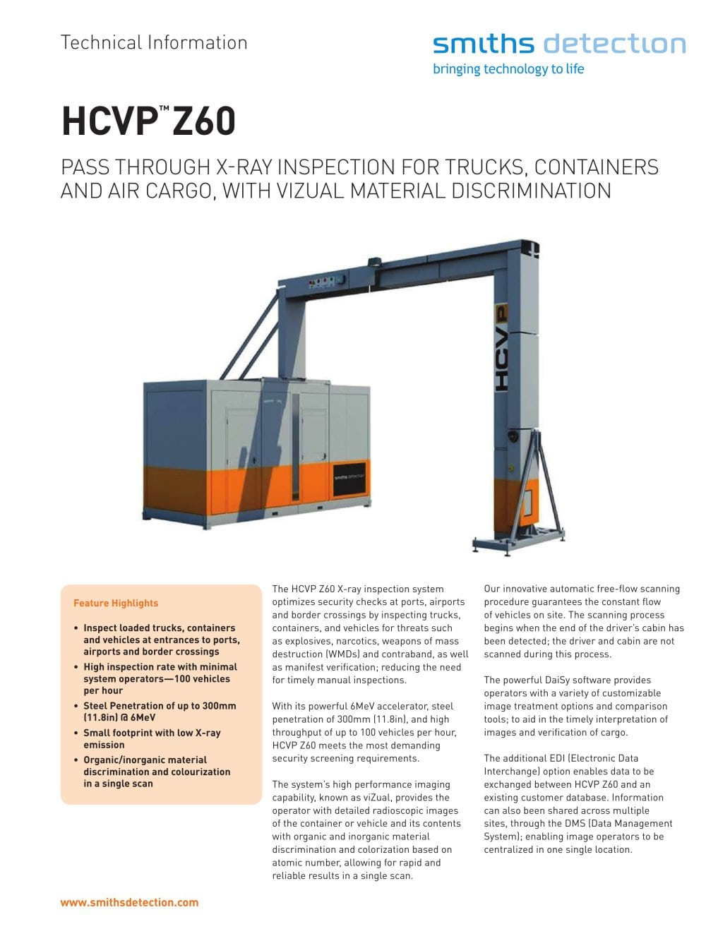 Hcvpz60 Smiths Detection Pdf Catalogue Technical There Are 2 Diagrams For This Vehicle Since It Has Options 1 Pages Add To Myaeroexpo Favorites
