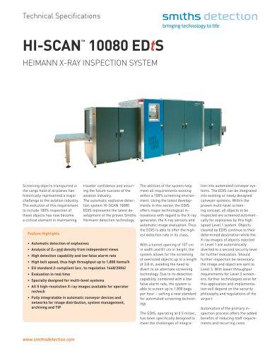 HI-SCAN 10080 EDtS