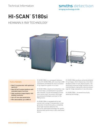HI-SCAN 5180si