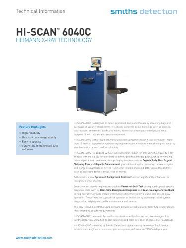 HI-SCAN 6040C