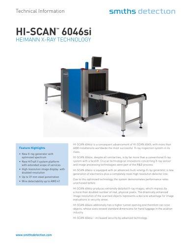 HI-SCAN 6046si