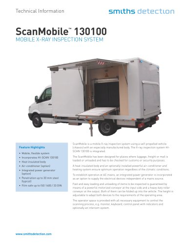 ScanMobile™ 130100