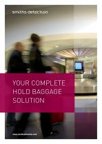 YOUR COMPLETE HOLD BAGGAGE SOLUTION