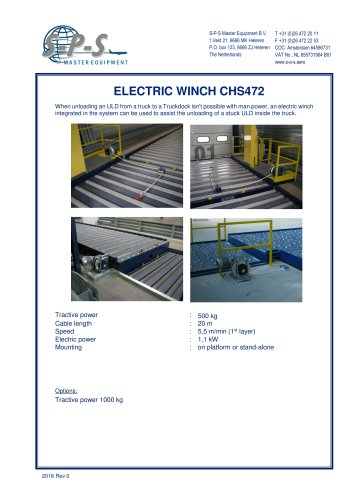 ELECTRIC WINCH CHS472