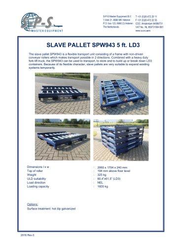 SLAVE PALLET 5 FT SPW943