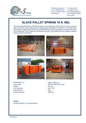 SLAVE PALLET SPW948 10 FT. NEL