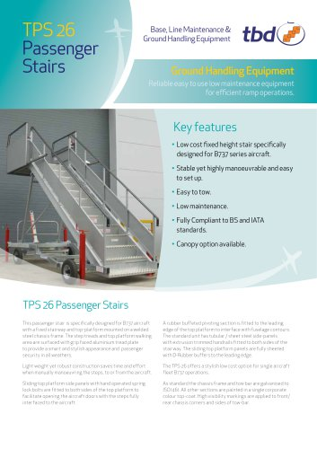 TPS 26 Passenger Stairs